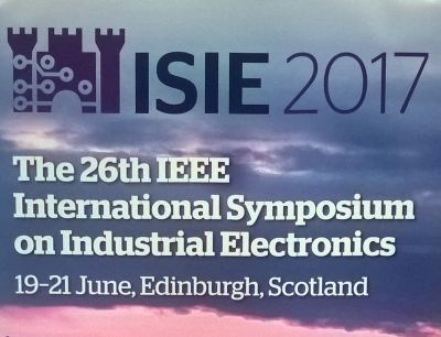 ISIE 2017 Conference in Edinburgh,...