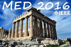 MED 2016 Conference in Athens, Greece